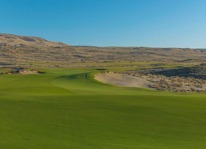 At three and a half hours east of Seattle and two and a half hours west of Spokane, Gamble Sands is not on anyone's beaten path, but for a unique walking experience and an unforgettable golf romp through the high desert, it's is worth the detour.