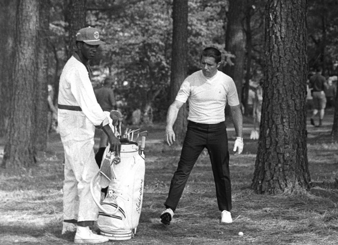 "Gary Player                       The Black Knight won nine majors in a globe-spanning career that continues to this day.  ""His awesome short game, work ethic and attitude were second to none,"" Top 100 Teacher Bill Moretti said. ""He was successfully competing against Palmer, Nicklaus and Casper in their primes despite lacking their distance."""