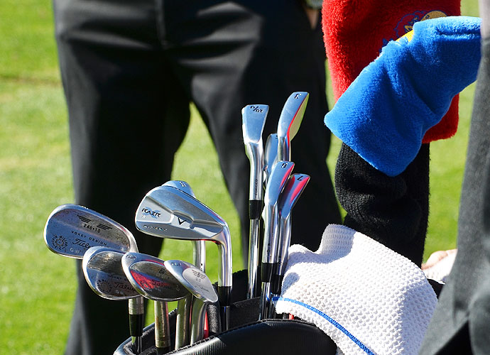 Gary Woodland recently switched to Callaway and now uses RAZR X Forged irons.