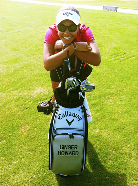 @GingerTHoward: Time to shine with my new partnership with @CallawayGolf !! :)