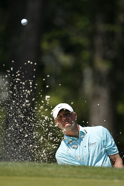 Lucas Glover had the lead going into Saturday's play, but a weekend 73-71 left him in a tie for seventh.