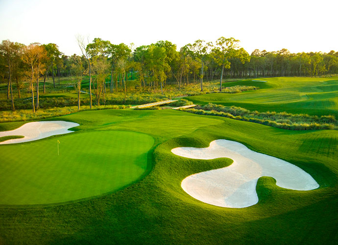 13. Rees Jones: Schooled at the knee of his famous father, Robert Trent Jones Sr., Rees incorporated his dad's vision for attractive holes while toning down the relentless shotmaking demands required at the elder's courses. The best example is at the Golf Club of Houston's Tournament course (formerly Redstone), the current home to the PGA Tour's Shell Houston Open.
