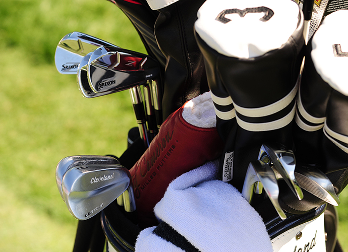Gonzalo Fernandez-Castano sticks to the classic look for his head covers.