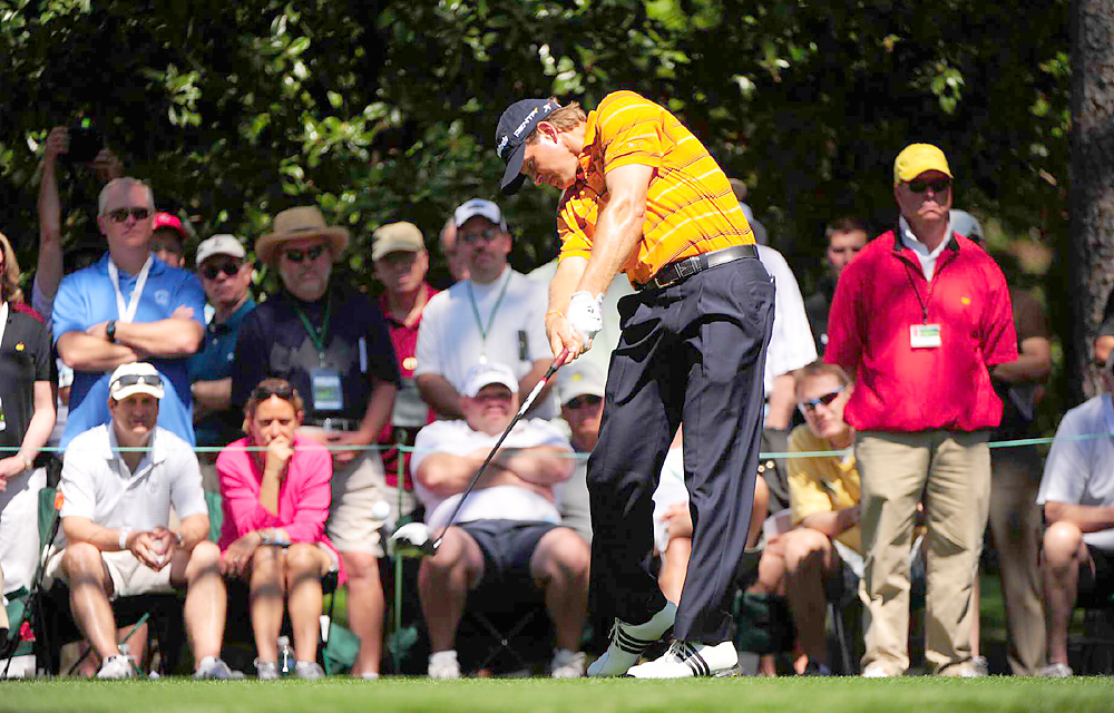 Retief Goosen                     After earning more than $3.2 million on the PGA Tour in 2010, the Goose went winless around the world in 2011, earned just $796,360 in 16 PGA Tour events, and sank from 16th to 53rd in the World Ranking.