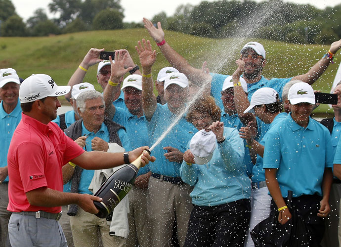 McDowell successfully defended his French Open title in in July, 2014, rallying from an eight-shot deficit to win with a closing 67.
