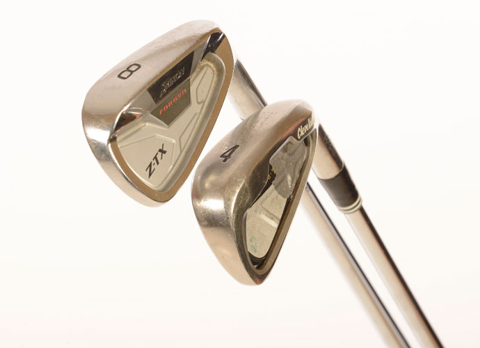 """I mainly use Srixon ZTX forged irons, which I've played for several years now,"" says McDowell. ""They're pretty traditional looking irons at set up and have a nice feel. My 4-iron is a Cleveland 588 TT cavity back with a  bit of a wider sole. The par-3s on Tour have gotten so long that I need an iron I can hit high and far."""