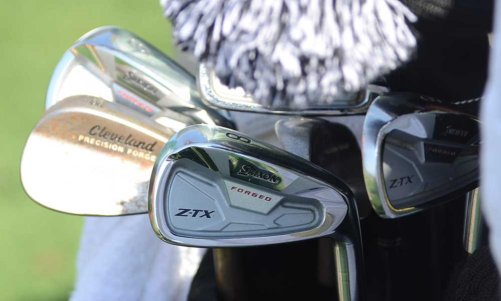 Graeme McDowell hopes that his Srixon Z-TX Forged irons can help him win a second major championship.