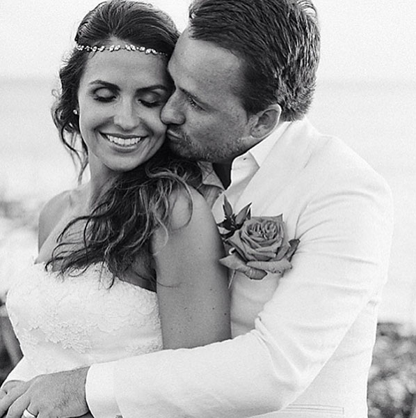 "McDowell scored another victory in 2013 when he married Kristin Stape in the Bahamas. He posted this photo to his Instagram account with the caption: ""I think this photo sums up the weekend. Happy and in love with @kristinstape. Photo by @collinhughes."""