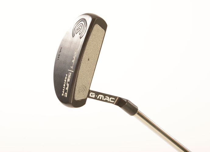 """I've been using the same mallet style head for many years but this particular prototype is fairly new for me,"" says McDowell. ""I've worked hard with Cleveland to develop a G-Mac version of their Smart Square line and I'm pleased with the results. This is still a prototype but you should be able to find it in golf shops some time soon."""