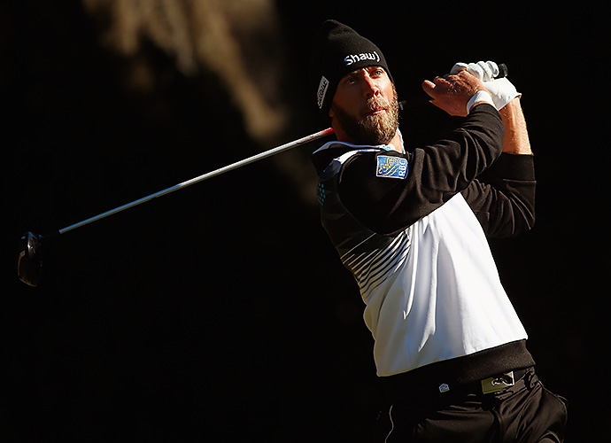 Graham DeLaet looked ready for the cold weather, but his game didn't hold up. He finished near the bottom of the leaderboard at 4-over, T115.