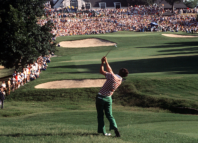 3: Hubert Green                       Green was known for a fidgety swing with plenty of up-and-down movement, and while it may not have been pretty, it produced a hall of fame career for him with victories at the 1977 U.S. Open and the 1985 PGA Championship.