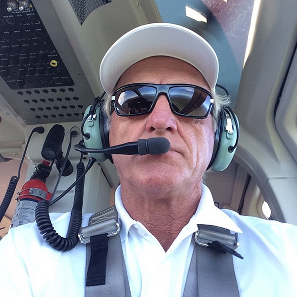 @shark_gregnorman Straight and level Captain!!!