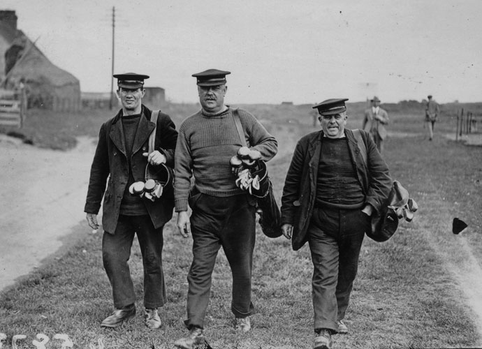 Caddies                       You haven't really golfed in Scotland unless you've had the company of a grizzled caddie, one of those endearing curmudgeons who's seen it all a thousand times again. Their droll humor is legendary, too, with dry witticisms that you'll need subtitles to understand.