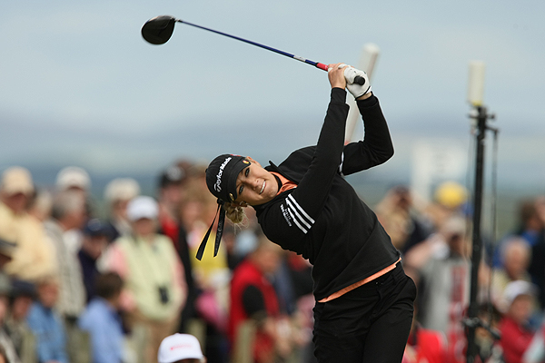 Natalie Gulbis, coming off her first LPGA Tour win at the Evian Masters last week, shot 73 in her opening round.