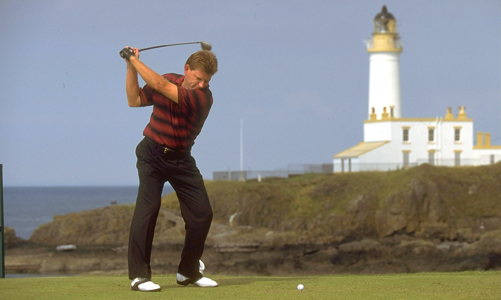 Nick Price at the 1994 British Open at Turnberry.