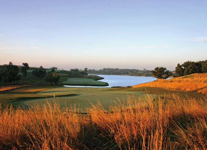55. The Harvester Golf Club Rhodes, Iowa; Keith Foster (2000) -- $99-$129, harvestergolf.com