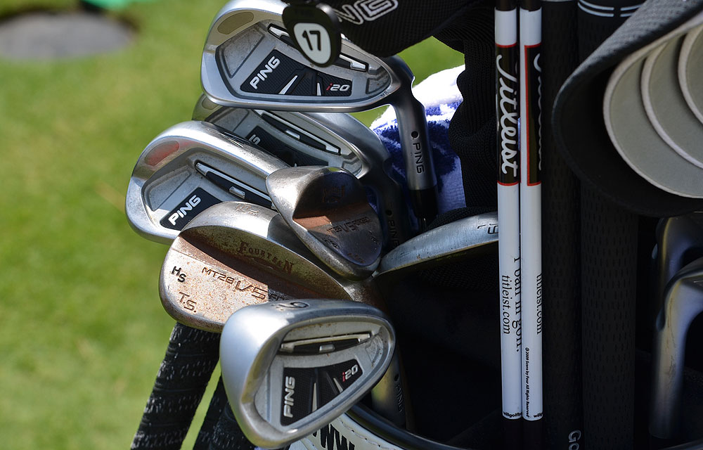 Health Slocum uses Ping's i20 irons and Fourteen MT28 V5 wedges.