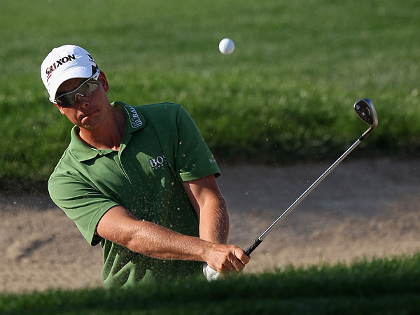 Henrik Stenson (Sweden)                       World ranking: 7                       Ball: Srixon Z-Star X