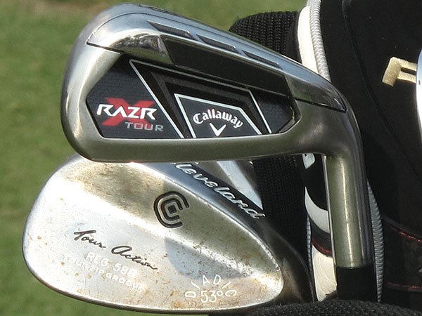 Henrik Stenson won the Players in 2009. These days, the Swede is playing Callaway's new RAZR X Tour irons, along with Cleveland 588 wedges.