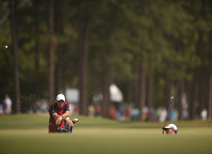 Henrik Stenson, the world's second-ranked player, began his 2014 U.S. Open with a 1-under 69.