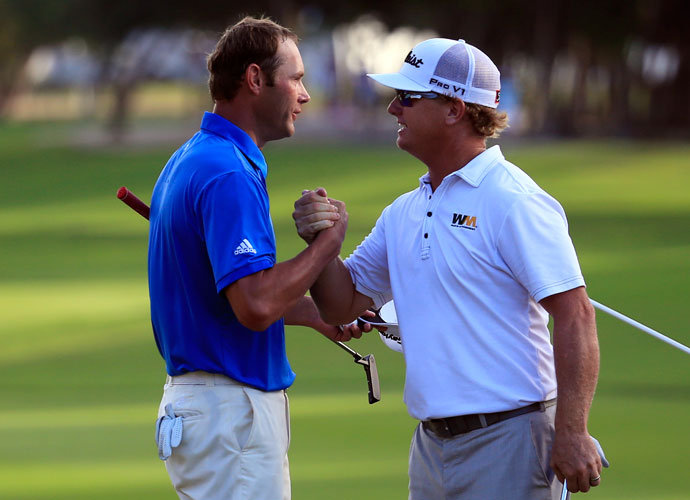 Hoffman's 5-under 66 was just good enough to edge Shawn Stefani by a single stroke.