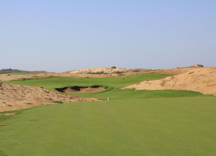 The second hole at El Cardonal. The course is named for the former ranch at the site.
