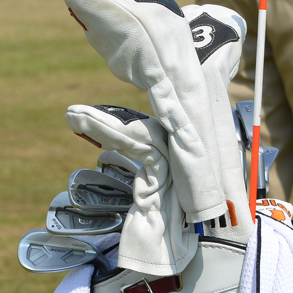 Hunter Mahan plays Ping's S56 irons and the company's new Anser wedge.