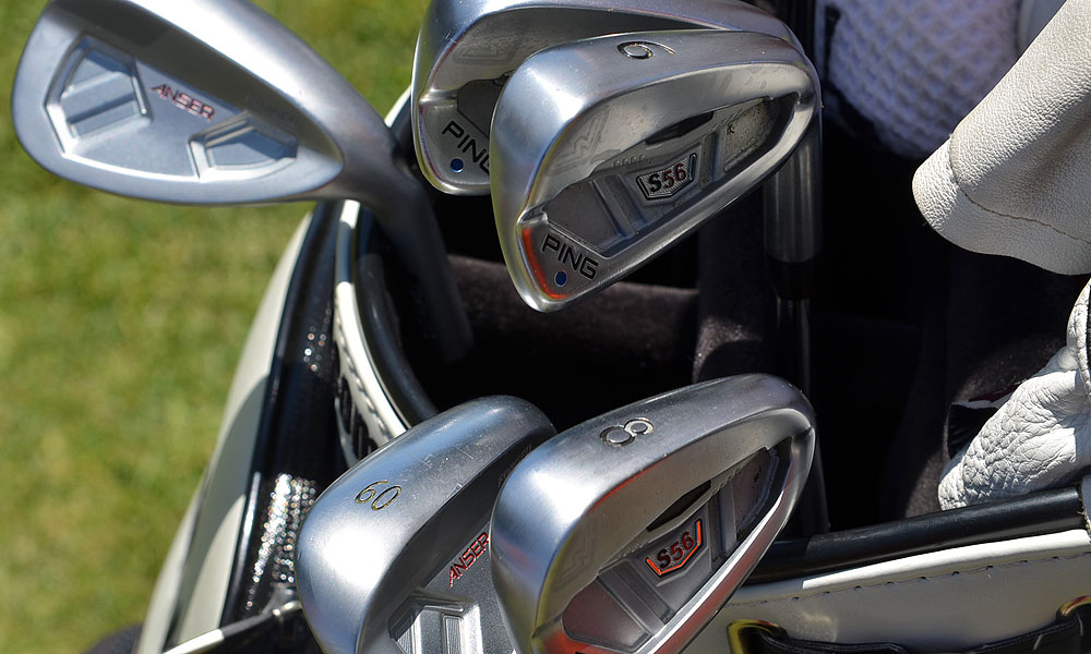 10. Hunter Mahan (USA)                     Ping S56 (3-PW) with True Temper Dynamic Gold X100 shafts