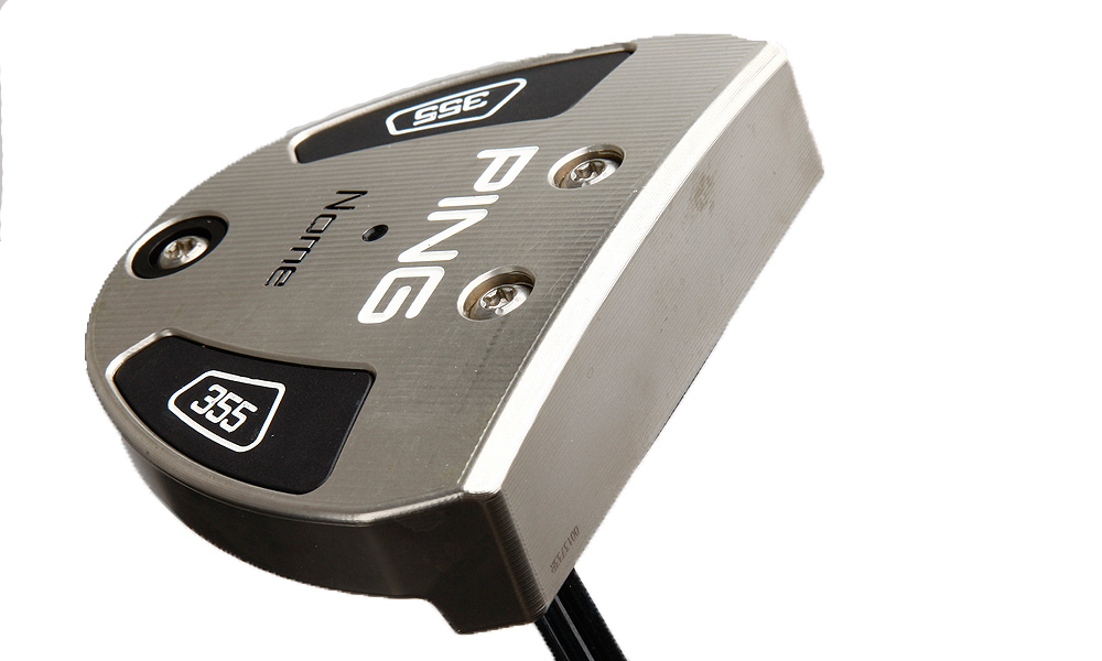 The week that Mahan added this Ping Nome putter to his bag, he won the WGC-Accenture Match Play Championship.