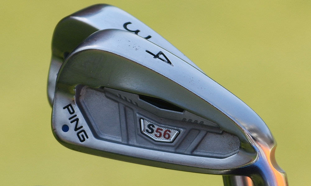 Hunter Mahan has used this set of Ping S56 irons throughout the 2012 season.