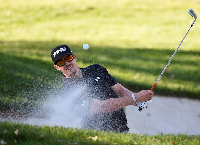 Hunter Mahan, one of four Ryder Cuppers in the field, shot a 2-under 70 to finish in a five-way tie for third at 12 under.
