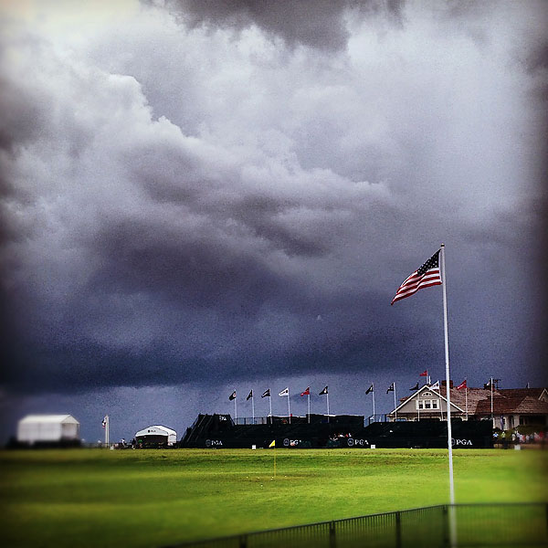 """@StephanieWei: Ominous...#moreclouds @ 94th PGA Championship at the Ocean Coarse"""