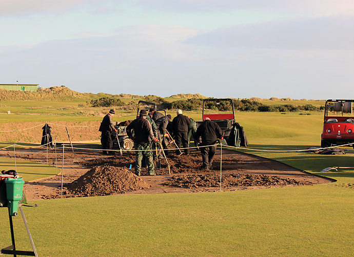 Changes at the Old Course, 15th Hole