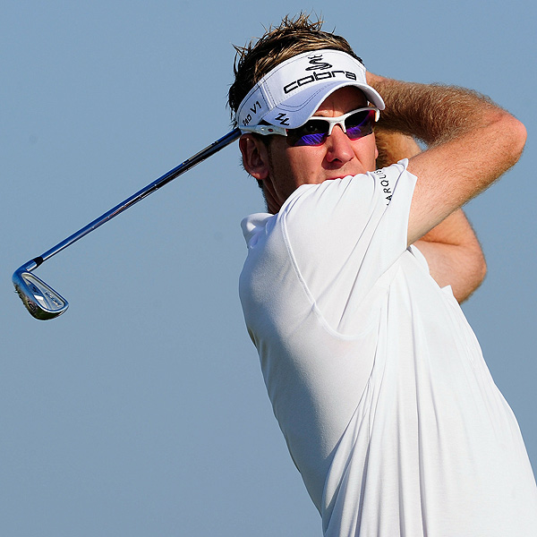 Acushnet sells Cobra                       As Ian Poulter walked to the range on the Wednesday before the start of the WGC-CA Championship at Doral in Miami, he and others learned that Acushnet had just sold Cobra Golf—the maker of Poulter's clubs—to Puma.