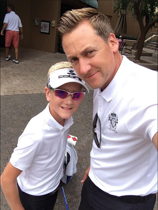 @IanJamesPoulter Time to caddy for Luke today in his tournament. Let's go do this Luke Ryder Cup style. Team @IJPDesign ready.