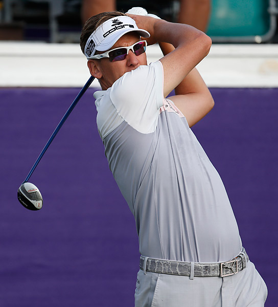 Poulter only made seven pars in his first round.