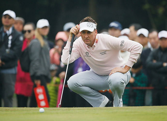 Ian Poulter was even on day three.