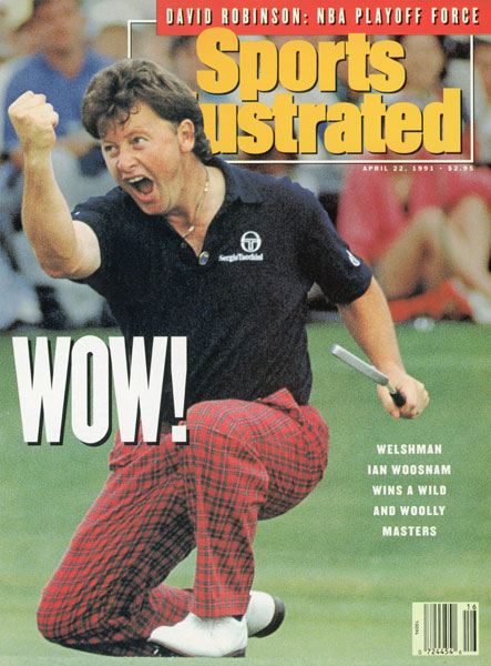 "Ian Woosnam                         One of the players who didn't make the hall is Ian Woosnam, who landed on the cover of Sports Illustrated after capturing the 1991 Masters, his lone major victory. Beginning with the Class of 2015, the Hall of Fame changed its criteria for male competitors: ""A player must have a cumulative total of 15 or more official victories on any of the original members of the International Federation of PGA Tours (PGA TOUR, European Tour, Japan Golf Tour, Sunshine Tour, Asian Tour and PGA of Australasia) OR at least two victories among the following events: The Masters, The Players Championship, the U.S. Open, The Open Championship and the PGA Championship."" Woosnam is credited with 29 European Tour victories."