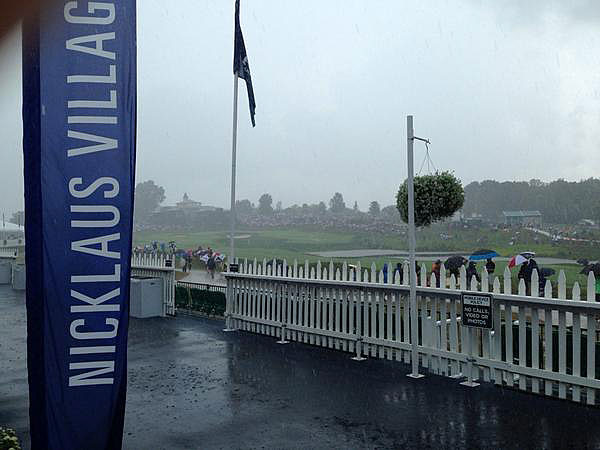 @mark_immelman                       The heavens have opened over Valhalla! #PGA