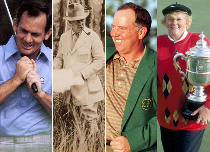 Two-time major champions David Graham and Mark O'Meara, renowned course designer A.W. Tillinghast and legendary Laura Davies and are the members of the 2015 World Golf Hall of Fame. Here are some of their career highlights, and a look at some of the notable snubs from this year's HOF class.