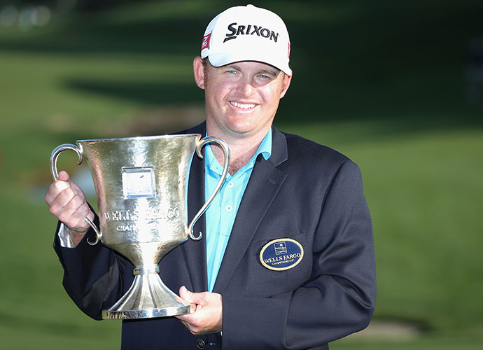 It was the 32-year-old Holmes' third PGA Tour victory and his first since having brain surgery to correct structural defects in his cerebellum in 2011.
