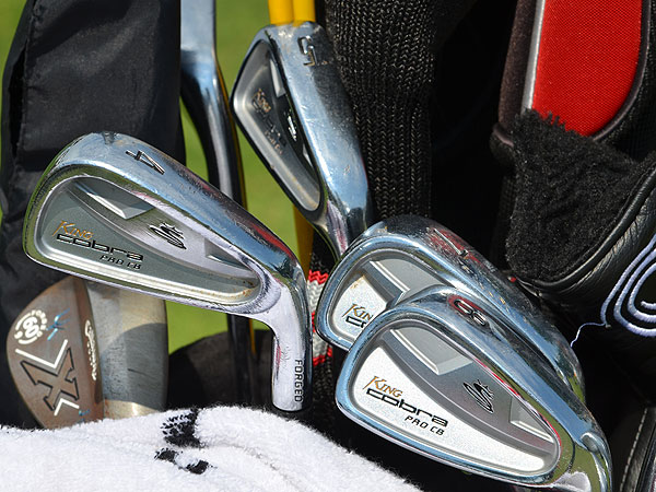 J.B. Holmes uses Cobra Pro CB irons and Callaway X Forged wedges.