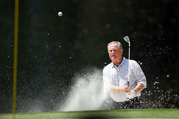 SI's John Biever: My Fave Photos of 2007                       From Augusta National to Carnoustie and Southern Hills, Sports Illustrated photographer John Biever was there to cover it all. See his favorite shots from the 2007 season.                                              Jack Nicklaus did not compete in the 2007 Masters, but the Golden Bear did play in the Par 3 Contest on the eve of the tournament.