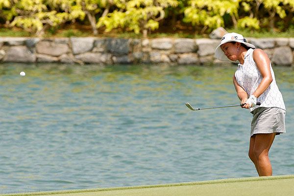 Jane Park started the day tied with Creamer and also shot 71. As the co-leaders, will be paired together on Saturday.