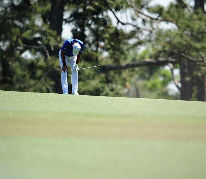 Another Australian pre-tournament favorite, Jason Day shot a 70 to get to +2.
