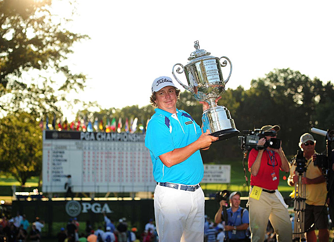 It was Dufner's first major victory of his career.
