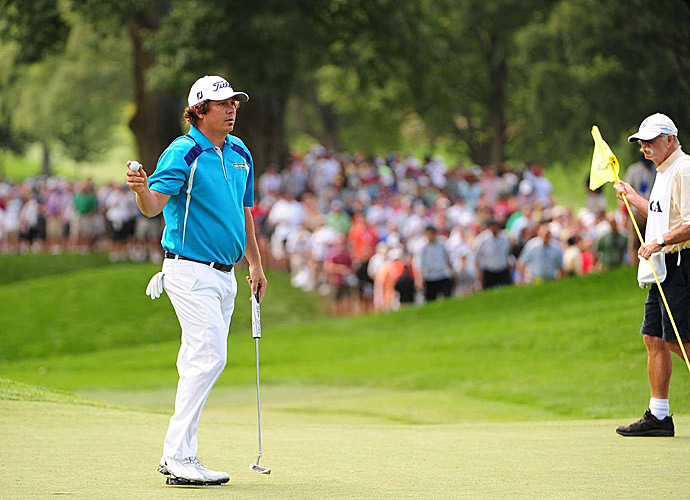 Dufner lost to Keegan Bradley in a playoff at the 2011 PGA Championship.