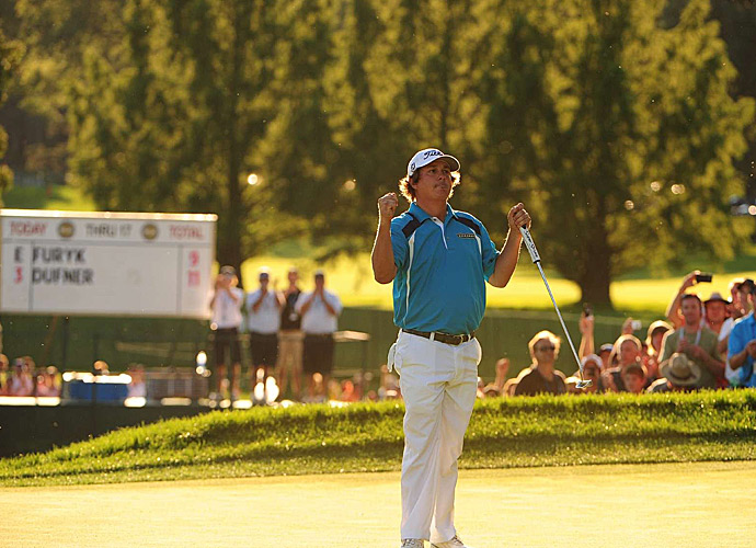 Jason Dufner shot a two-under 68 in the final round to win the 2013 PGA Championship.