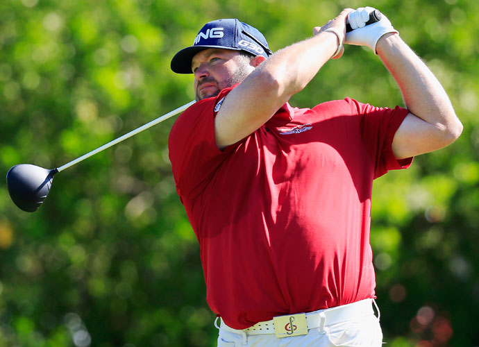 Jason Gore is four shots back after his second-round 66.