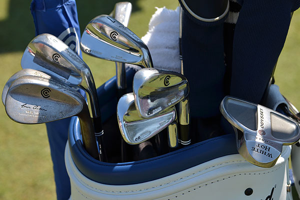 Jeff Overton uses Cleveland's CG Tour irons and 588 wedges.